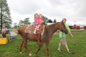 Reid's Orchard Birthday Party Horse and Pony rides