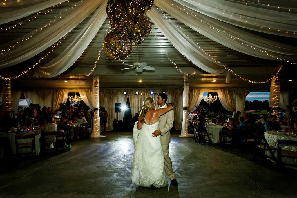 Reids Orchard Reids Orchard Wedding Reception Dance
